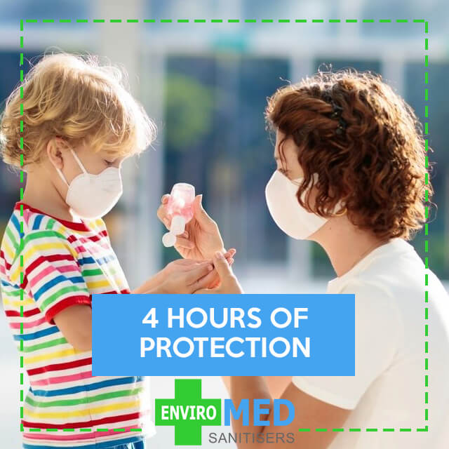 4 hours of protection